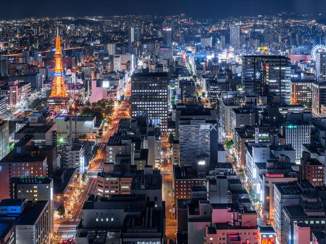 JRタワー展望室 タワー・スリーエイト_札幌ステラプレイス
