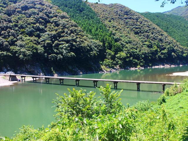 沈下橋_佐田の沈下橋