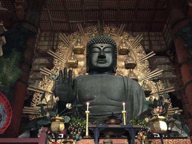 大仏様。凄い存在感_東大寺金堂(大仏殿)