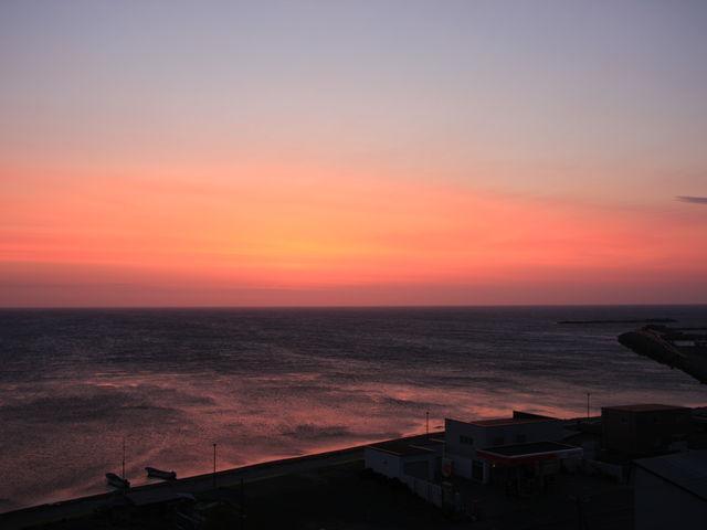 宗谷岬の夜明け_宗谷岬