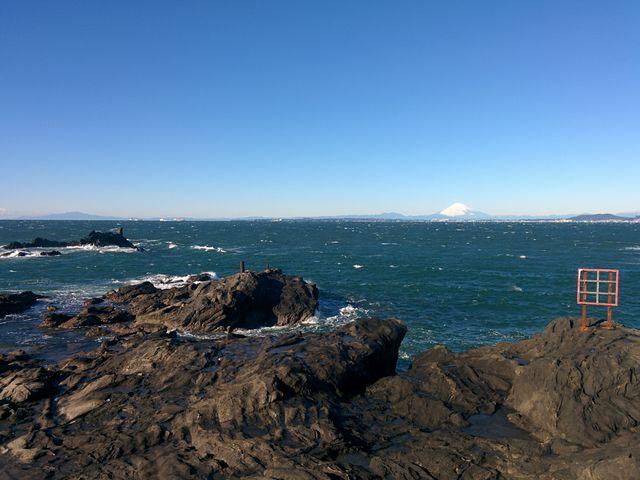 天気が良ければ富士山も見えます_岬