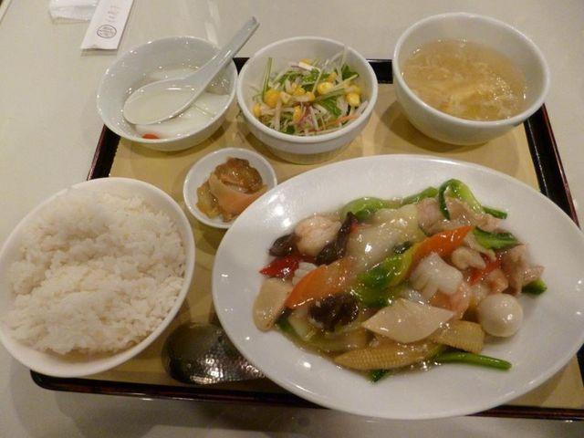 Assorted set(vegetable and seafood)_紅蘭亭 下通店