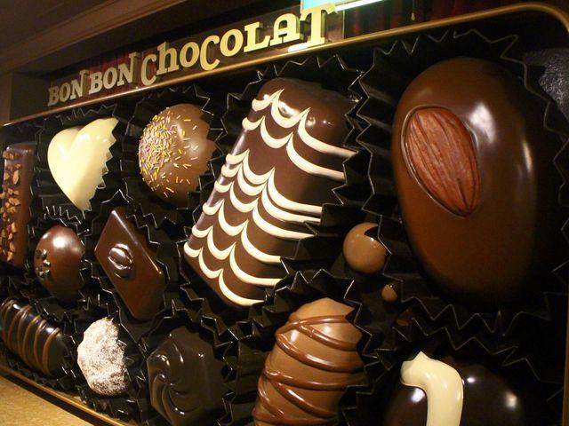 チョコレートの巨大オブジェ_チョコレートハウス