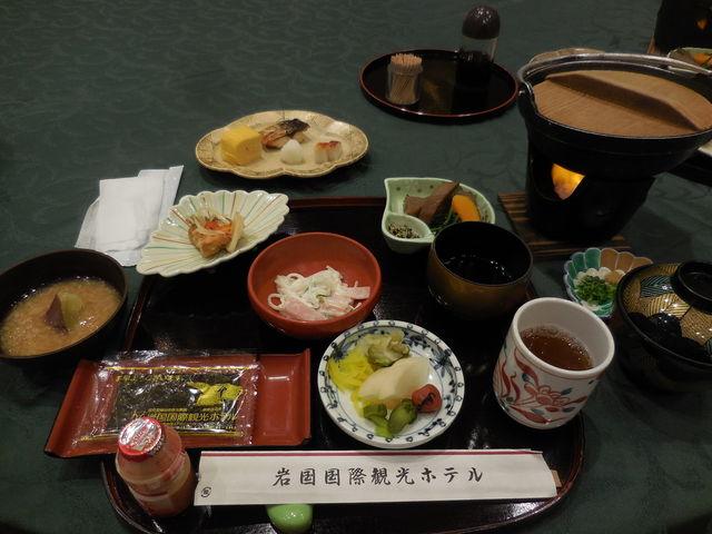 朝食です。_岩国国際観光ホテル