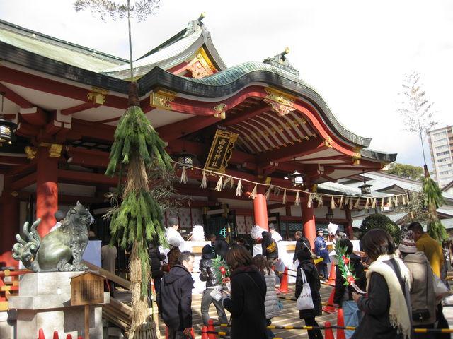 本殿へ_西宮神社(西宮の戎さん)