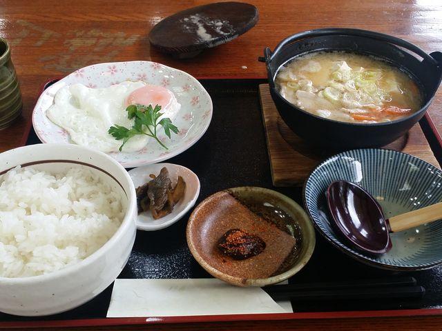 朝食セット_前沢サービスエリア上り線前沢レストラン