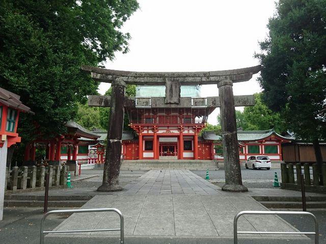 社殿_藤崎八旛宮