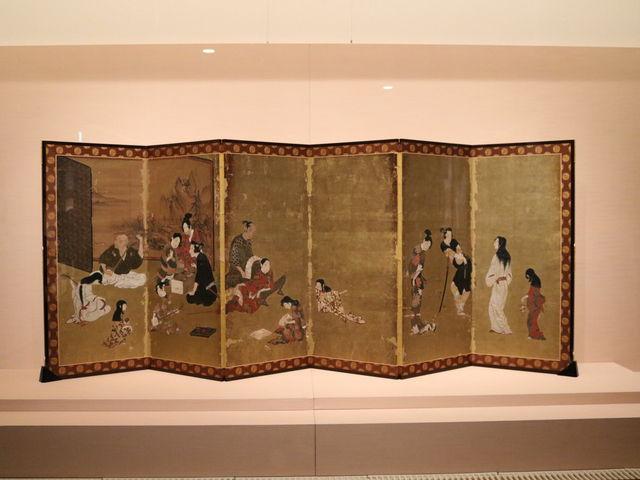 彦根屏風_彦根城博物館