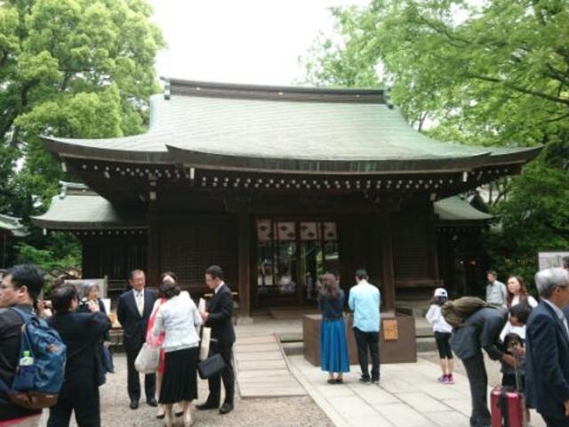 拝殿_川越氷川神社