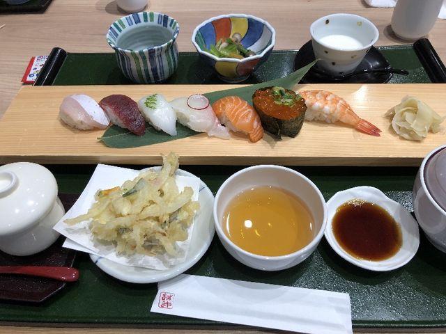 寿司ランチ_あずまや和風レストラン