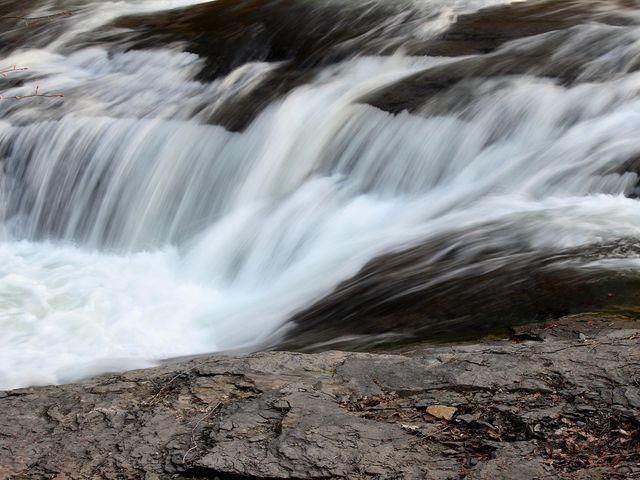 綺麗な水_三段の滝