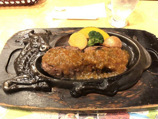 げんこつハンバーグ だったかな…_炭焼きレストランさわやか 静岡インター店