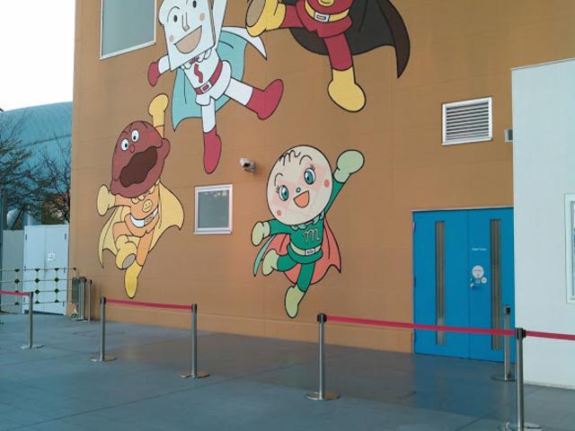 入り口付近_名古屋アンパンマンこどもミュージアム&パーク