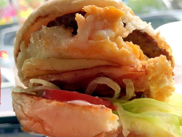 具沢山でとっても美味しかったです_ハンバーガーショップヒカリ