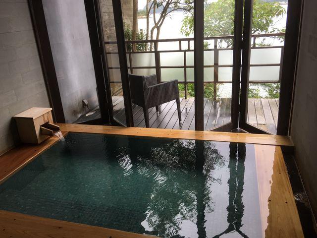 夢ほたるの貸切湯。_松島温泉