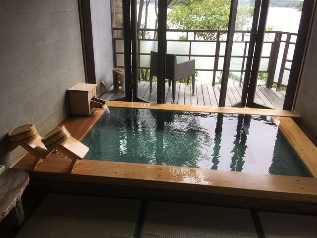全部で6つあります。こちらは伍の湯。_松島温泉