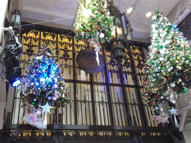 クリスマスの飾りつけ_伊勢丹新宿店