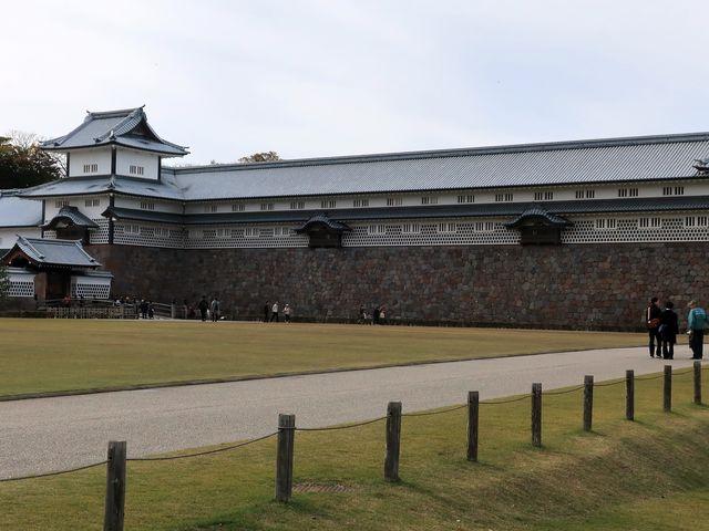 金沢城の新しい「絵」でもある_金沢城 五十間長屋