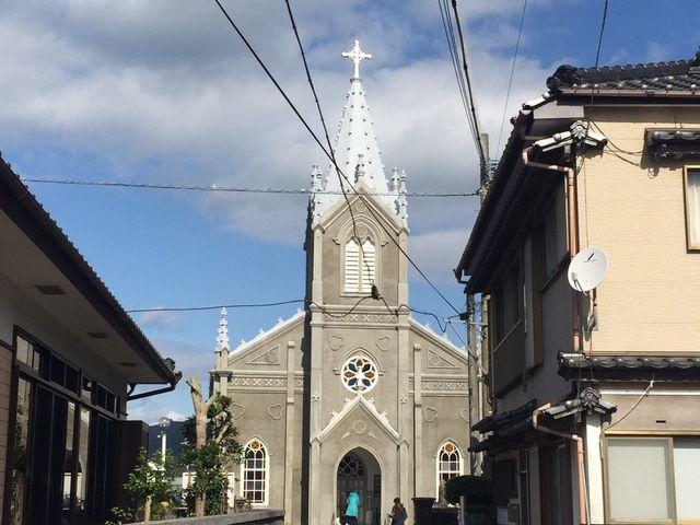 近づくにつれワクワクします_崎津教会史料館