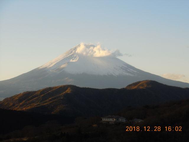 駒ケ岳ロープウェイからの富士山_駒ケ岳