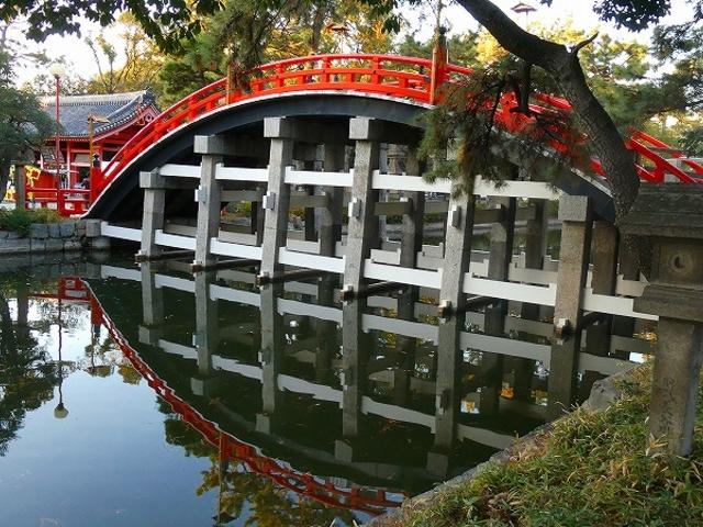 大阪市・住吉大社 反橋_反橋(住吉大社の太鼓橋)