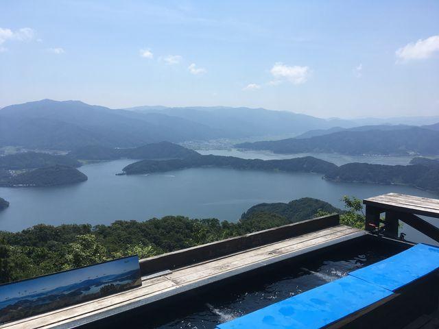 足湯_レインボーライン山頂公園
