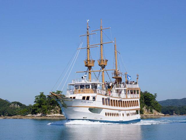 パールクィーンは、海の女王をイメージした優雅な遊覧船です。_九十九島パールシーリゾート