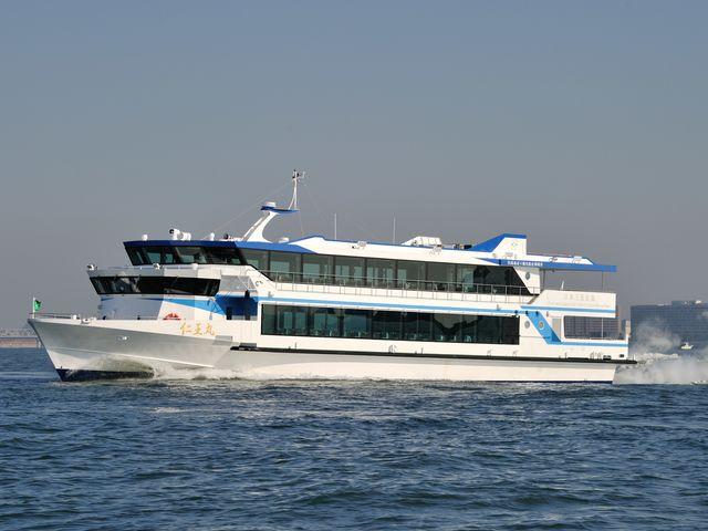 令和2年 新造船「仁王丸」_松島島巡り観光船