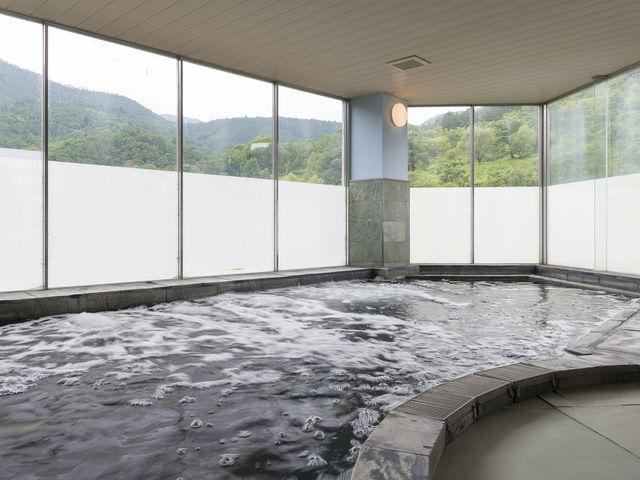 青石の湯_神山温泉ホテル四季の里&癒しの湯