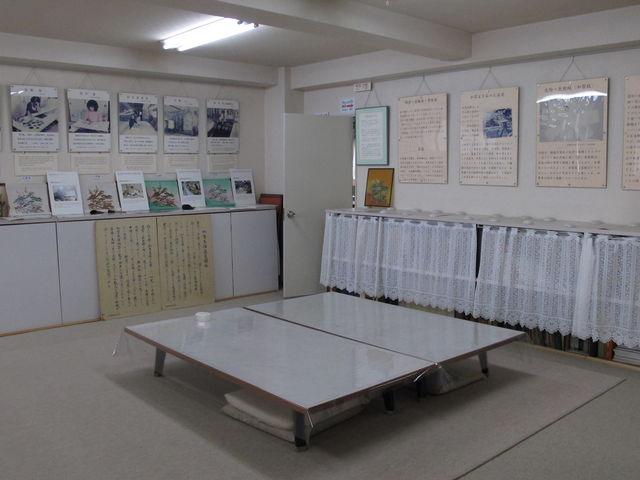 3階は資料や作業工程を_加賀友禅 長町友禅館