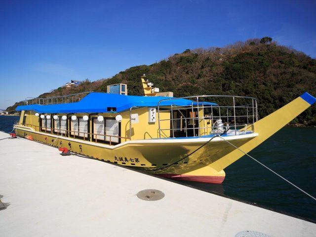屋形船の外観です。_屋形船 かがやき屋