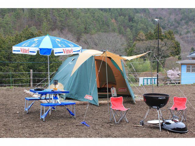 BBQイメージ_都留市戸沢の森和みの里キャンプ場
