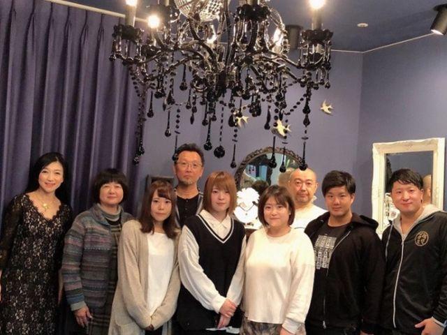 体験会参加者の皆様と_創作ジュエリー工房SILVER ART KAORI