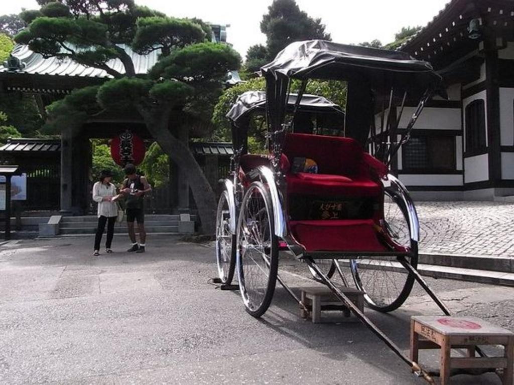 人力車えびす屋鎌倉