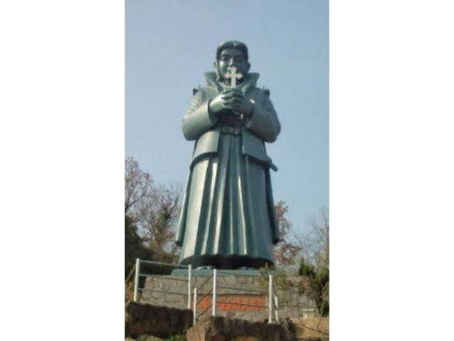 天草四郎銅像