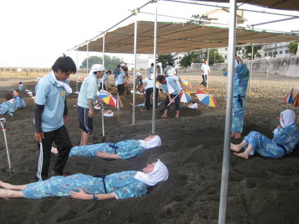 砂むし会館「砂楽」