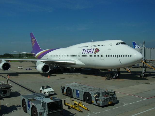 タイ航空_成田国際空港