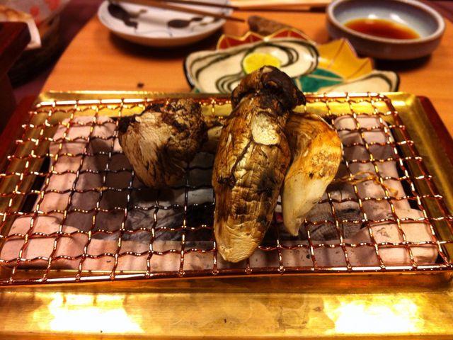 国産松茸〓〓_飯坂温泉