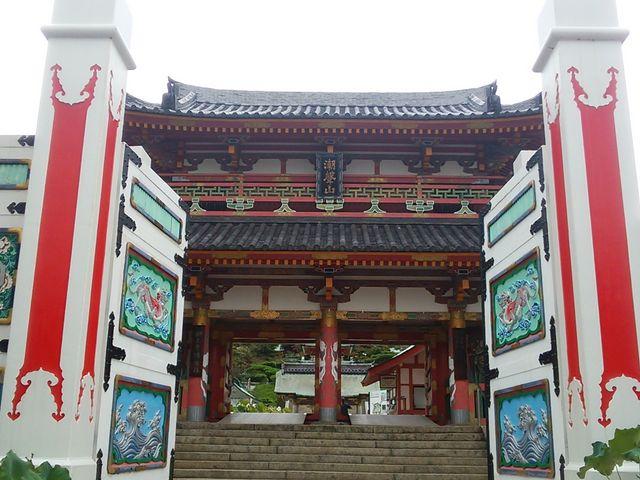 耕三寺の入り口_生口島