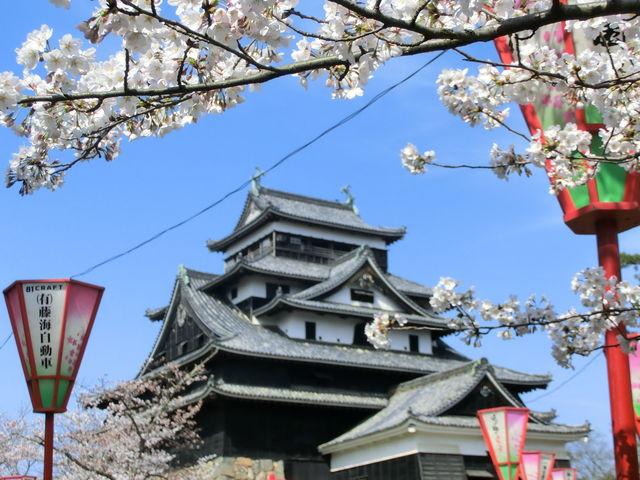 まるでカレンダーの写真のような_松江城