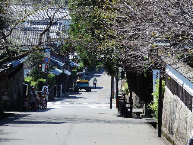 大手門から城下街方面を望む_一般財団法人 飫肥城下町保存会