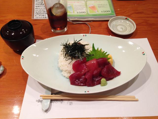 マグロヅケ丼_ちゅう心 鮨・海鮮しゃぶしゃぶ