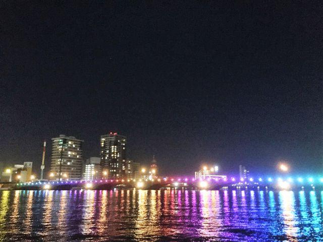 万代橋イルミネーション_萬代橋