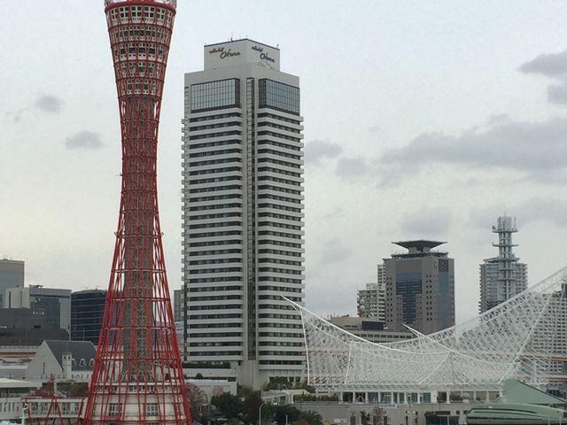 神戸ポートタワー_メリケンパーク・ハーバーランド