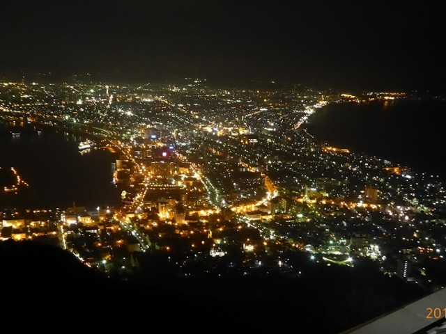 北海道函館(函館の夜景)_函館山展望台