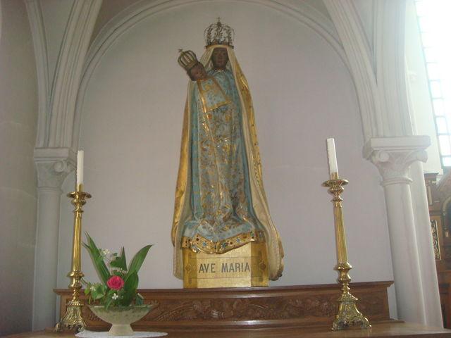 かをが泥色のアベマリア_鶴岡カトリック教会天主堂