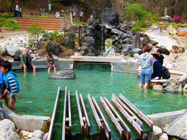 足湯_西の河原公園