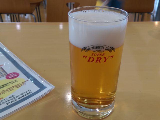 ビール試飲_アサヒビール北海道工場