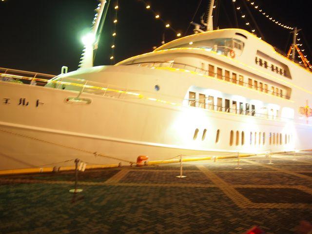 大きくて、キレイな船!_船の旅コンチェルト