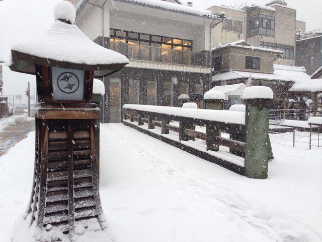 元旦。大雪。地元の方が初詣に来られてるようでした。観光客はウチ位な感じでした。_北の庄城址・柴田公園